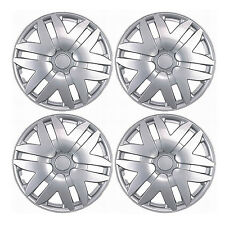 "New 4 Pcs Silver 14"" Hub Caps Wheel Cover Set Toyota Sienna 2004-2010 Style -997"