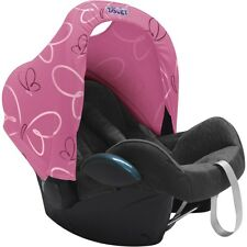 Dooky Hoody Pink Butterfly Sun Canopy Hood Shade fits Maxi Cosi Pebble Cabriofix