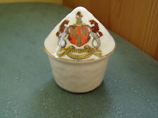 NEWCASTLE ON TYNE CREST - HAYSTACK - ARCADIAN CRESTED CHINA