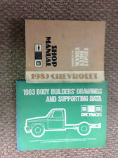 1983 CHEVY CHEVROLET TRUCK 10 30 SERIES 10-30 Service Repair Shop Manual SET W B