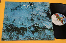 EDGAR FROESE LP AQUA 1°ST ORIG USA 1974 EX ! TOP AUDIOFILI GATEFOLD COVER