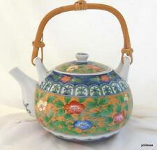 "OMC Teapot Japan 4"" plus Bamboo Handle Classic Design"