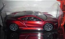 HOT WHEELS 2016 THEN & NOW '17 ACURA NSX  (RED)