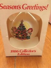 1986 Campbell Kids Soup Collectible Limited Edition Christmas Ornament