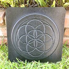 Sacred Geometry Seed of Life Concrete Cement Stepping Stone Paver Mold