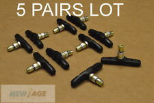 NEW LOT 5 Pairs V-Brake Pads Shoe 70mm  Block Pattern Mountain Bike Bicycle