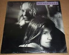 BOY MEETS GIRL - Reel Life - RCA 8414-1-R SEALED