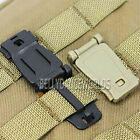 2X TACTICAL MOLLE BAG BACKPACK WEBBING CONNECTING BUCKLE CLIPS LOCKING CARABINER