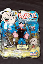 NEW~ CLASSIC POPEYE ACTION FIGURE 2001 MEZCO BNOC~ FREE PRIORITY US!