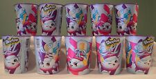 Set 10 NEW Shopkins REUSABLE CUPS Birthday Party Supplies Plastic 16oz