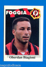 CALCIO FLASH '95 Lampo - Figurina-Sticker n. 97 - BIAGIONI - FOGGIA -New