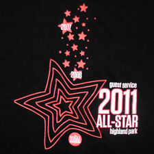 Whole Foods Market T-Shirt Large Guest Service All Star Store Employee Uniform