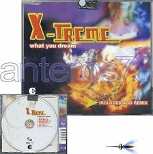 "X-TREME ""WHAT YOU DREAM"" RARE CDM ITALO AGO REMIX"