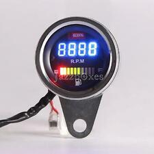 LED Digital Tachometer Fuel Gauge for Harley Softail Custom Fat Bad Boy Deluxe