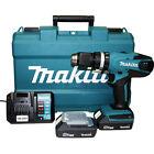 Trapano batteria litio percussione 18 V Makita HP457DWE valigetta