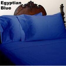 STRIPED DUVET COVER SET CHOOSE COLORS & SIZES 1000 TC EGYPTIAN COTTON SALE*