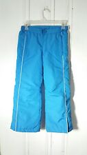ATHLETECH KIDS SNOW SKI PANTS BLUE SIZE 66X  SMALL