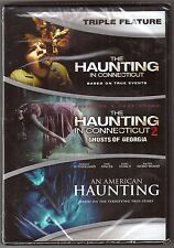 3-Movie The Haunting In Connecticut 1 & 2 + An American DVD BRAND NEW