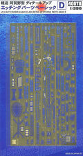 Hasegawa 40078 1/350 IJN Agano Class Detail Up Etching Parts Basic D