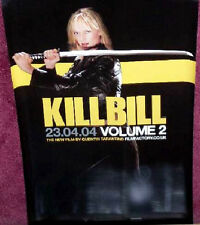 Cinema Poster: KILL BILL VOLUME 2 2004 (Advance Half Sheet) Quentin Tarantino