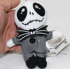 The Nightmare Before Christmas Jack Skellington Plush doll toy keychain pendant