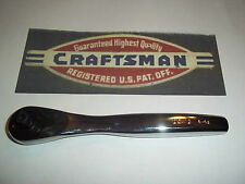 "New Craftsman Thin Profile 1/4"" Dr 75-Tooth Full Polish Quick Release - Ratchet"