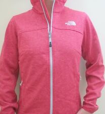 New Womens North Face Fleece Zip Coat Jacket Canyonwall Pink Extra Small XS