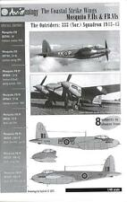Aviaeology Decals 1/48 THE COASTAL STRIKE WINGS CANADIAN MOSQUITO F.II & FB.VI
