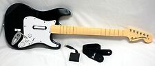 OFFICIAL Nintendo Wii/Wii-U Rock Band 1 Fender Stratocaster Wireless Guitar 2 3