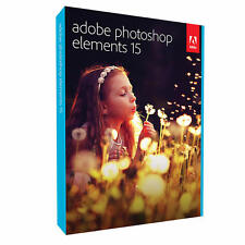 Adobe Photoshop Elements 15 Disc (PC/Mac)