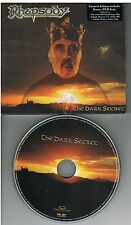Rhapsody ‎– The Dark Secret CD + DVD 2004