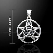 Druid Amulet .925 Sterling Silver Pendant by Peter Stone