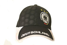 DEUTSCHLAND GERMANY DEUTSCHER FUSSBALL-BUND LOGO FIFA WORLD CUP EMBOSSED HAT CAP