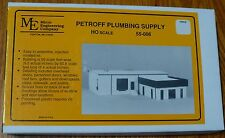 Micro Engineering Company HO #55006 Petroff Plumbing Supply -- (Building Kit)