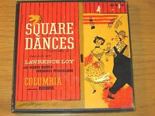 """SQUARE DANCES VOL. II"" 4-DISC BOX SET - LAWRENCE LOY - COLUMBIA H 4-11"
