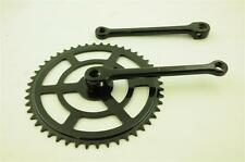 """50's,60's,70's,80's ROADSTER BIKE 48 TEETH SINGLE 1/8"""" COTTERED CHAINSET 175mm"""