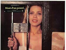 SEXY ORNELLA MUTI MORT D'UN POURRI 1977  VINTAGE PHOTO LOBBY CARD N°5