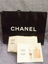 10 x CHANEL COCO MADEMOISELLE 1.5 ml x10 parfum perfume sample vial sprays + bag
