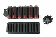 """Mossberg 500 590 Side Saddle Shell Carrier Holders 6 Round w/1"""" Tube Mount"""