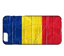 Coque iPhone 7 Drapeau ROUMANIE 04