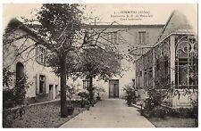 CPA 69 - POMMIERS (Rhône) - 3. Institution N. D. de Montclair. Cour intérieure