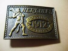 1980 SPECIAL EDITION HERCULES POWDER COMPANY BELT BUCKLE MADE IN USA - PERFECT