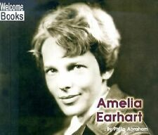Amelia Earhart (Welcome Books: Real People)-ExLibrary