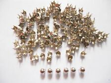 200 pcs Silver Tone Tiny Round Stud spot spike for apparel - size 3 mm