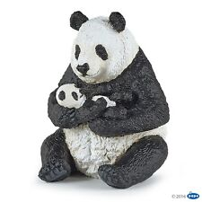 Sitting panda et bébé figure papo: wild animal kingdom-modèle 50196