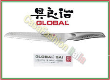 GLOBAL SAI COLTELLO PANE CM 23 /38 05 MARTELLATO PROFESSIONALE 152118 JAPAN