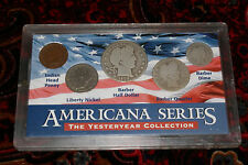 Americana Series Yesteryear Collection - 5 Coins Set