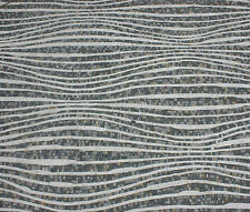 Abstract Wavy Continuous Long Lines Harmony Rug Home Design Marble Mosaic CR827