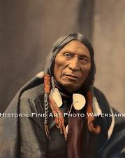 SIOUX INDIAN CHIEF CONQUERING BEAR VINTAGE PHOTO NATIVE AMERICAN 8x10 #22126