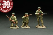 FIGARTI PEWTER WW2 AMERICAN RMA-011 RED BULL PATROL UNDER ATTACK SET B MIB